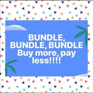 Bundle two or more items and save